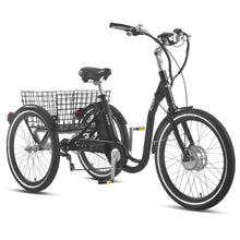 "E-SCAPE 24"" 7-Speed E-Trike Black"