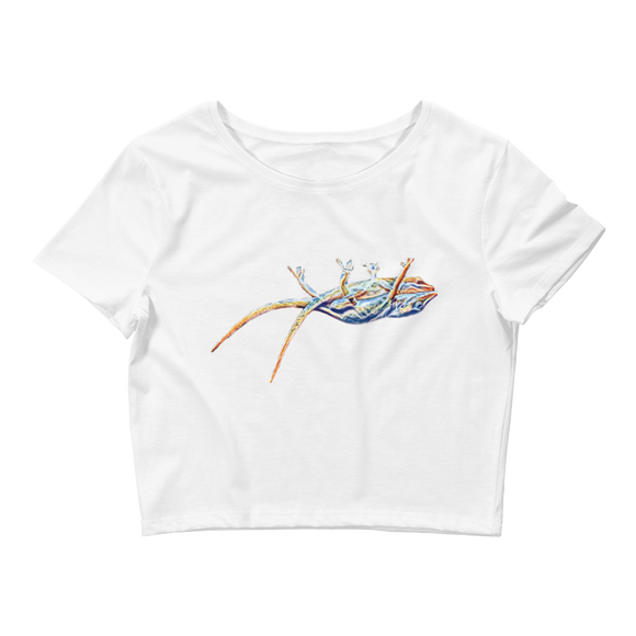 Together Woman Crop Top (Lizzard)