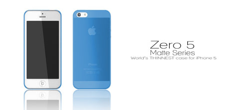 Zero 5 (0.5mm) UltraThin Matte for iPhone SE & 5S/5