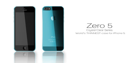 Zero 5 (0.5mm) UltraThin for iPhone SE & 5S/5