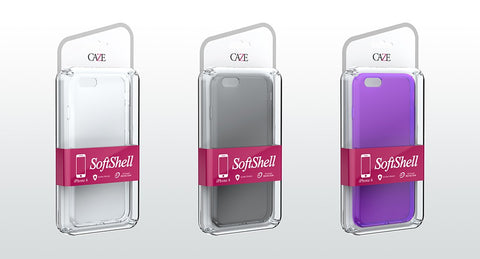 SoftShell See-thru case for iPhone 6/6S  & 6/ 6S Plus