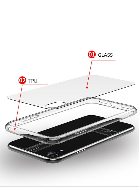 Zero 5 PRO Clear Case for iPhone XS