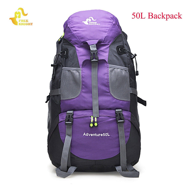 50L or 60L Waterproof Climbing/Mountaineering Backpack