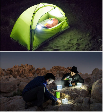 LED Inflatable Waterproof Solar Lantern