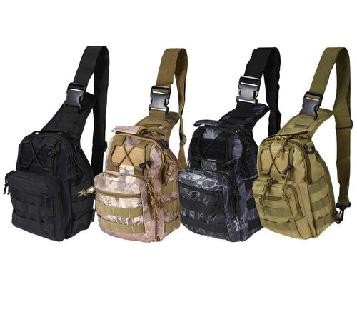 Molle Outdoor Single Shoulder Backpack
