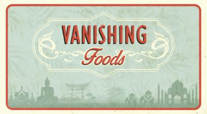 Vanishing Foods
