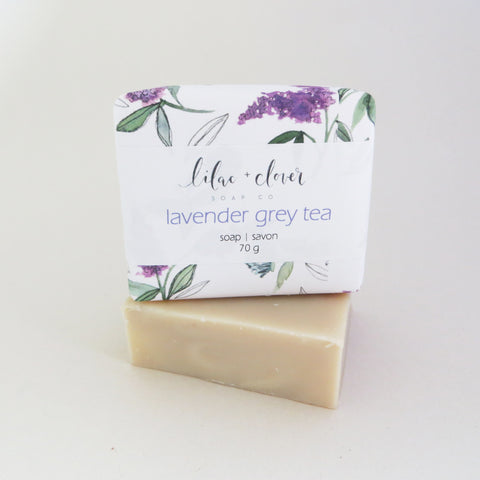 Lavender Grey Tea Soap