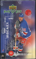1998/99 Upper Deck MVP Hockey Retail Box