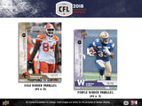 2018 Upper Deck CFL Football Hobby Box