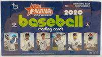 2020 Topps Heritage High Numbers Baseball Hobby Box