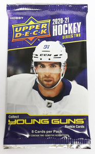 2020/21 Upper Deck Series 2 Hockey Hobby Pack