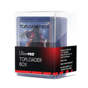 Ultra-Pro Top Loader Box