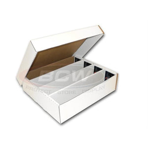 BCW 3200 Count Card Storage Box (In-Store Pick Up ONLY)