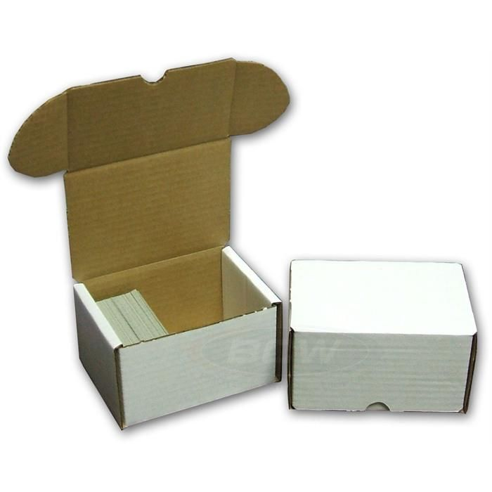 BCW 330 Count Card Storage Box