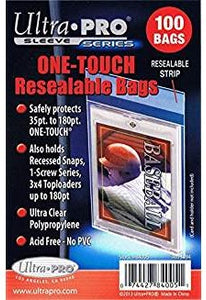 Ultra-Pro 1-Touch Resealable Bags