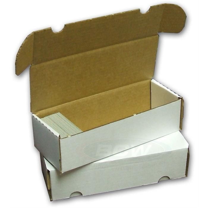 BCW 550 Count Card Storage Box