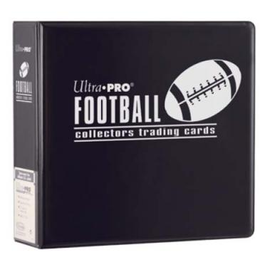 "Ultra-Pro 3"" D-Ring Football Binder (Black)"