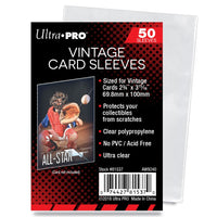 Ultra-Pro Vintage Card Sleeves