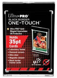 Ultra-Pro 35 Pt. 1-Touch Black Border Magnetic Holder