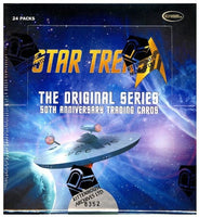Star Trek The Original Series 50th Anniversary Trading Cards Box (Rittenhouse)