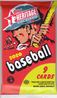 2020 Topps Heritage High Numbers Baseball Hobby Pack