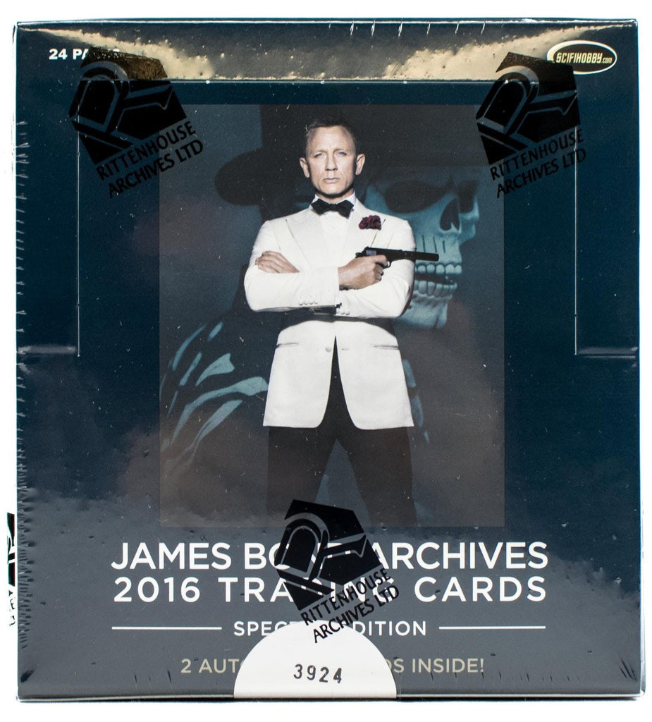 James Bond Archives Spectre Edition Trading Cards Box (Rittenhouse)