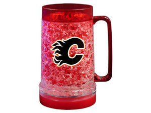 Calgary Flames 18oz Light Up Freezer Mug