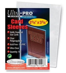 Ultra-Pro Regular Card Soft Sleeves