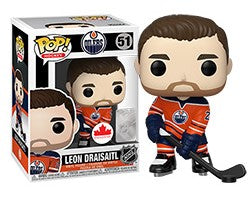 LEON DRAISAITL Funko Pop! Vinyl Figure *CANADIAN EXCLUSIVE*