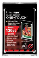 Ultra-Pro 130 Pt. Black Border 1-Touch Magnetic Holder