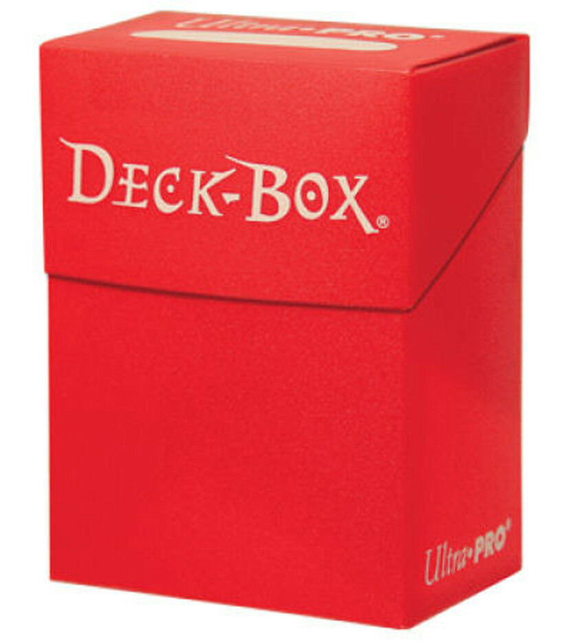Ultra-Pro Red Deck Box