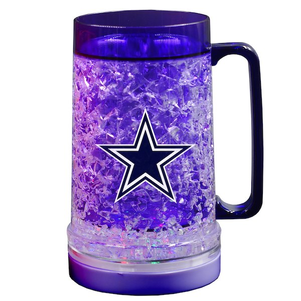 Dallas Cowboys 18oz Light Up Freezer Mug