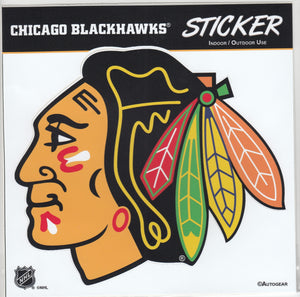 Chicago Blackhawks Team Logo Sticker