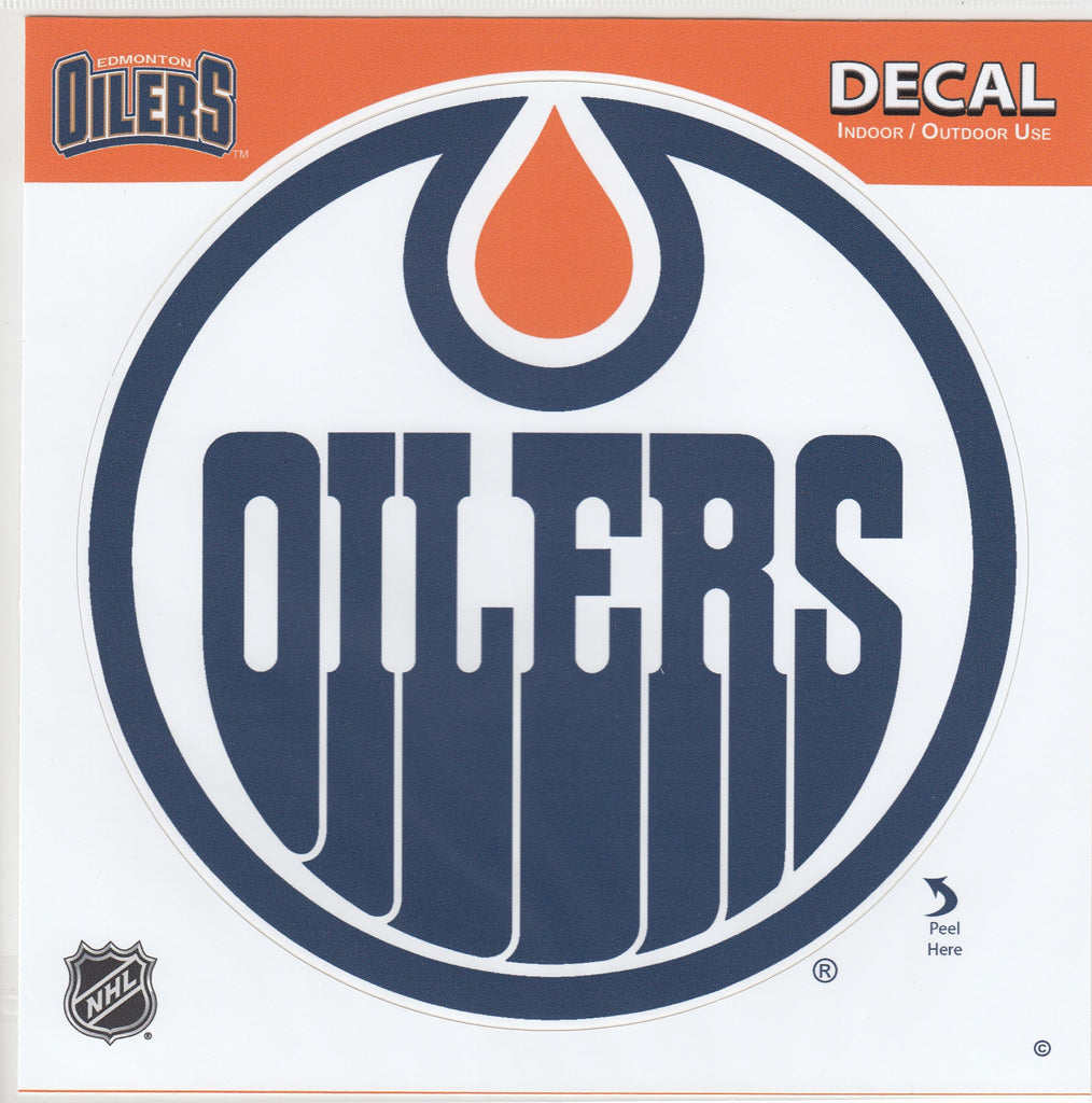 Edmonton Oilers Team Logo Sticker