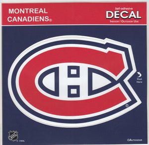 Montreal Canadiens Team Logo Sticker