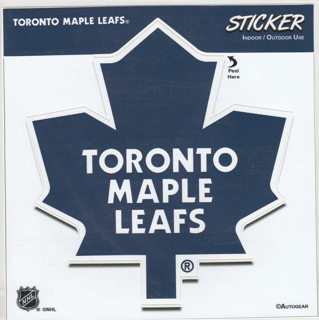 Toronto Maple Leafs Team Logo Sticker