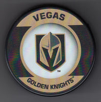 Vegas Golden Knights Retro Hockey Puck