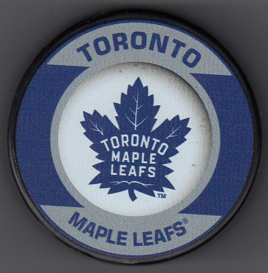 Toronto Maple Leafs Retro Hockey Puck