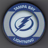 Tampa Bay Lightning Retro Hockey Puck