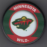 Minnesota Wild Retro Hockey Puck