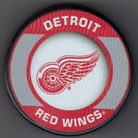 Detroit Red Wings Retro Hockey Puck