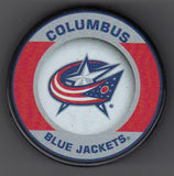 Columbus Blue Jackets Retro Hockey Puck