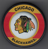 Chicago Blackhawks Retro Hockey Puck