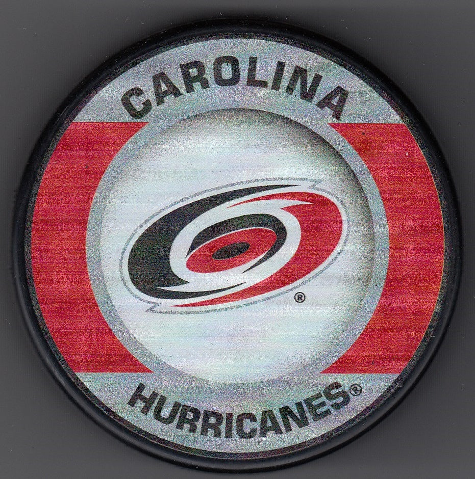 Carolina Hurricanes Retro Hockey Puck