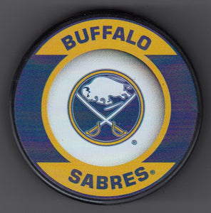 Buffalo Sabres Retro Hockey Puck