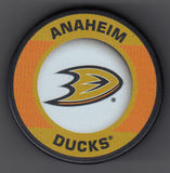 Anaheim Ducks Retro Hockey Puck