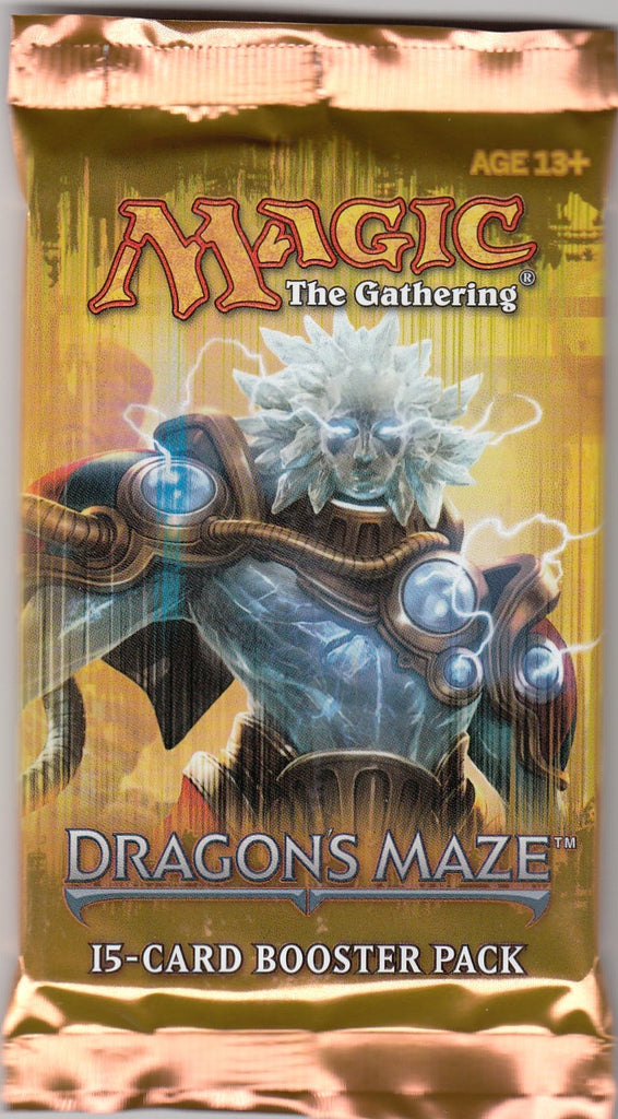 Magic The Gathering Dragon's Maze Booster Pack