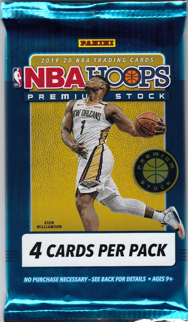 2019/20 Panini Hoops Basketball Premium Stock Retail Pack