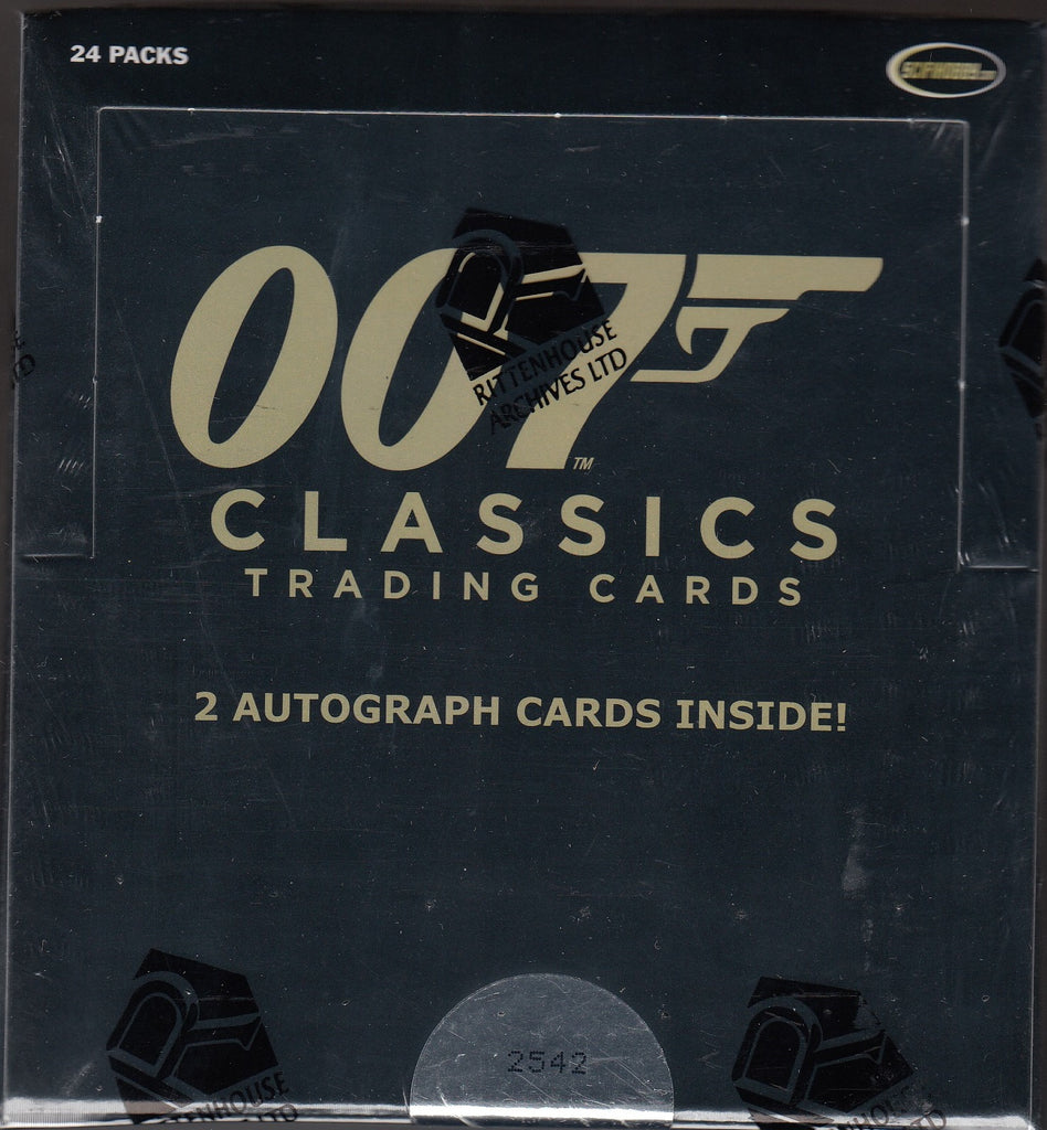 James Bond 007 Classics Trading Cards Box (Rittenhouse)