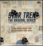 Star Trek The Original Series Portfolio Prints Trading Cards Box